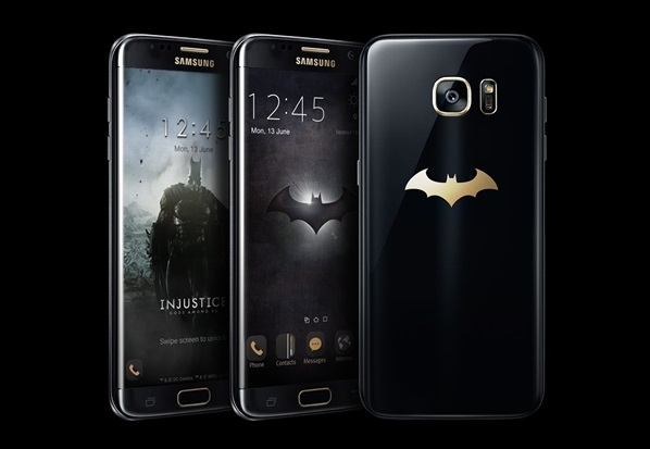 SAMSUNG releases Batman-inspired Galaxy S7 edge Injustice Edition