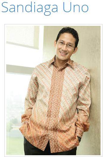 Pelajaran Bisnis Mas Sandiaga Uno yang Banyak Menginspirasi Anak Muda Indonesia