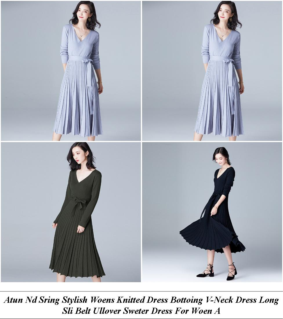 Casual Dresses - Online Sale Sites - Denim Dress - Cheap Designer Clothes