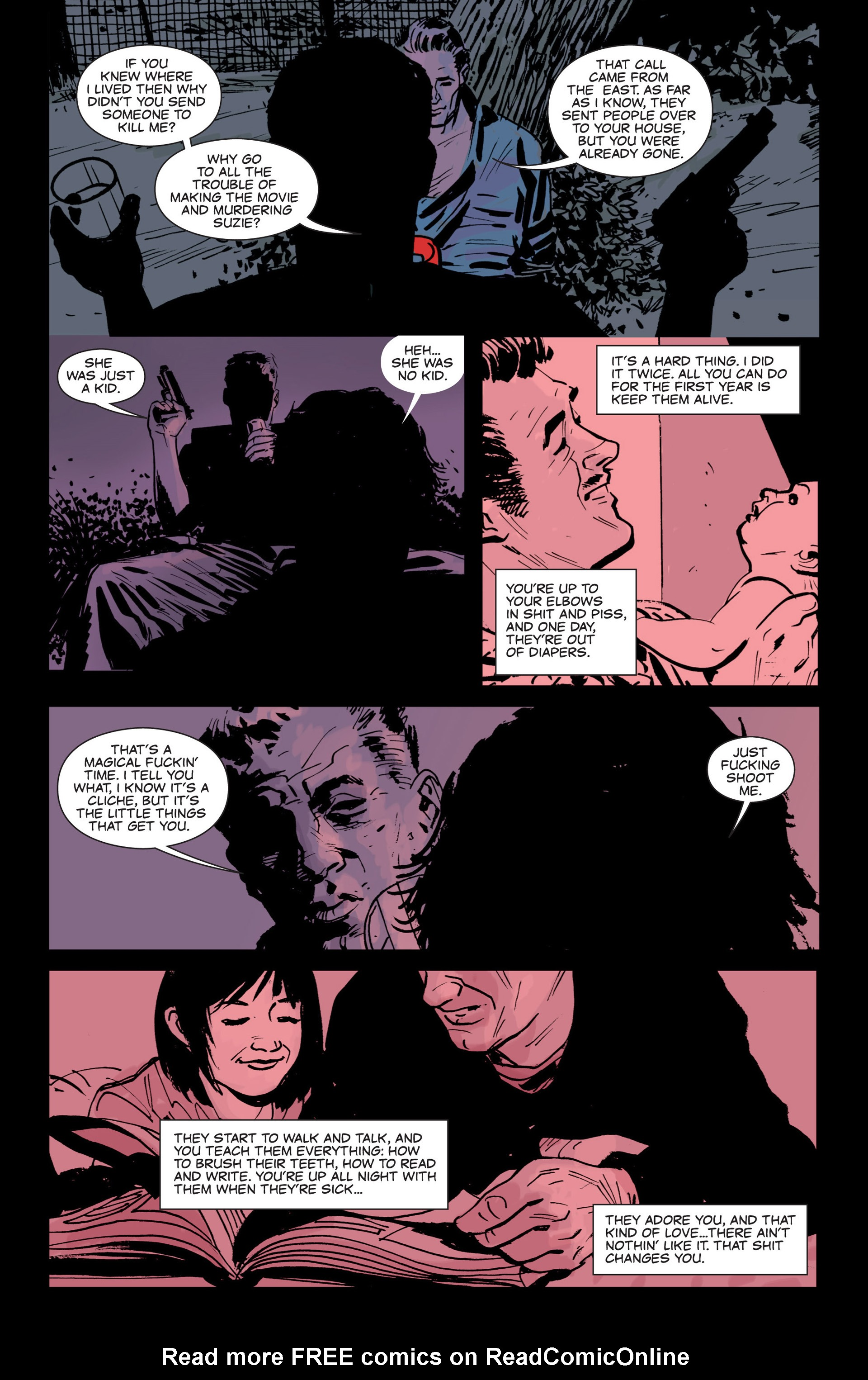 Read online Sex and Violence comic -  Issue # Full - 24