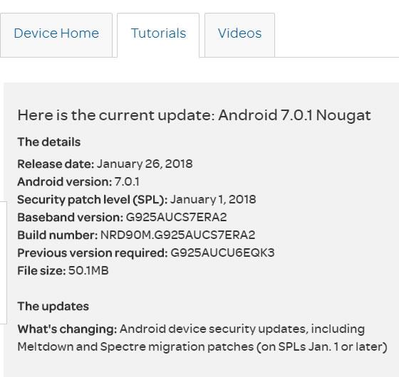 GalaxyS6edgeUpdate: ATamp