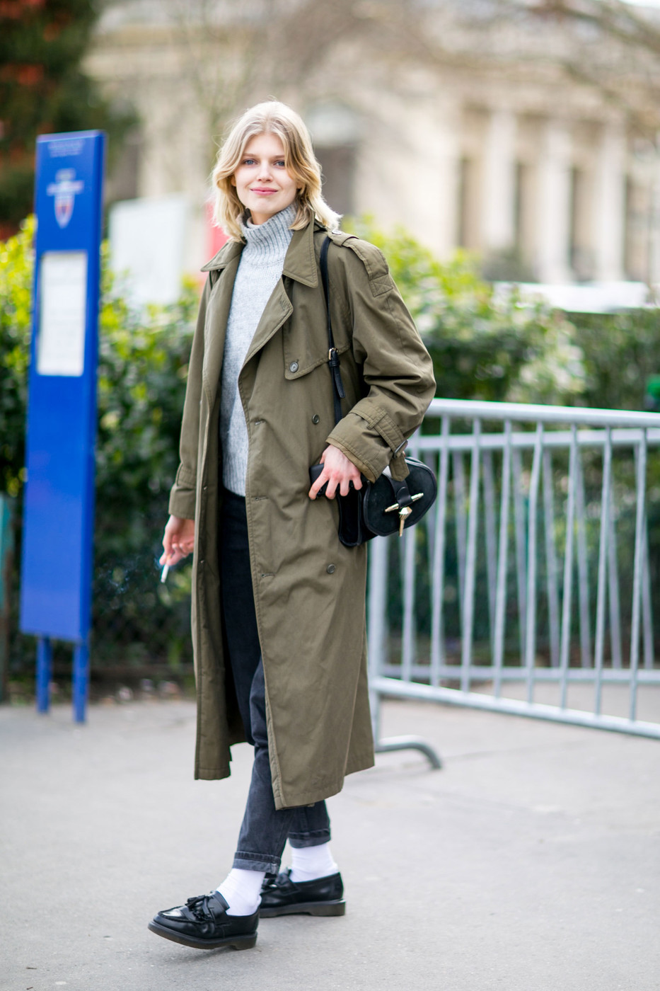 Street Style: Ola Rudnicka's Classic Layers 2016