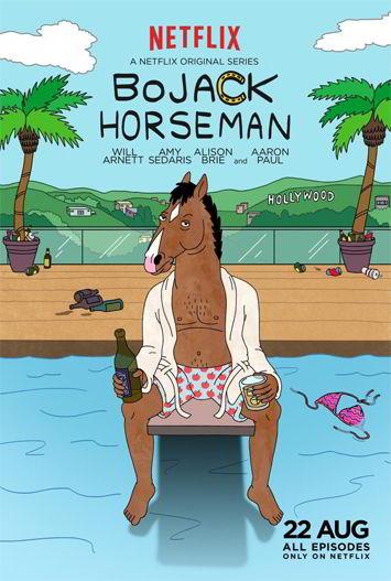 Bojack Horseman Temporadas 1, 2 3 y 4 HD 720p Latino DUAL