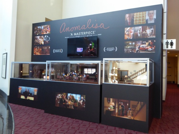 Anomalisa stop-motion animation movie exhibit