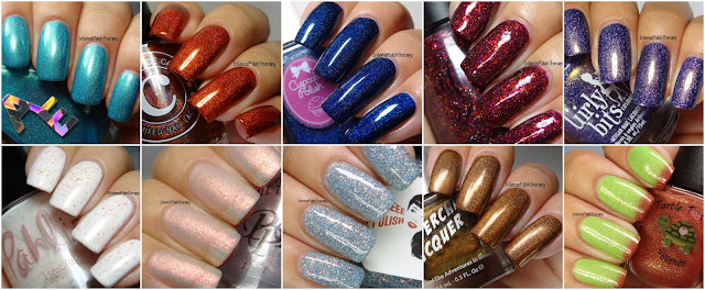 Top 10 Indies Polishes, I tried in 2017