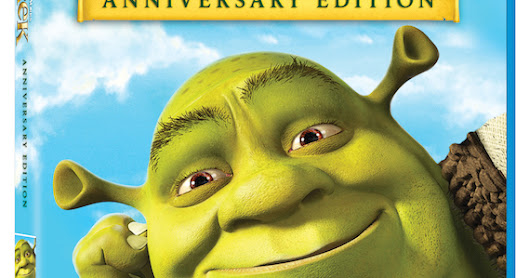 The Diary of a Nouveau Soccer Mom: Shrek, 15th Anniversary {Giveaway}