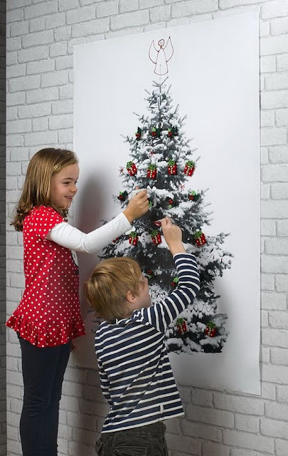 Chistmas tree for children play