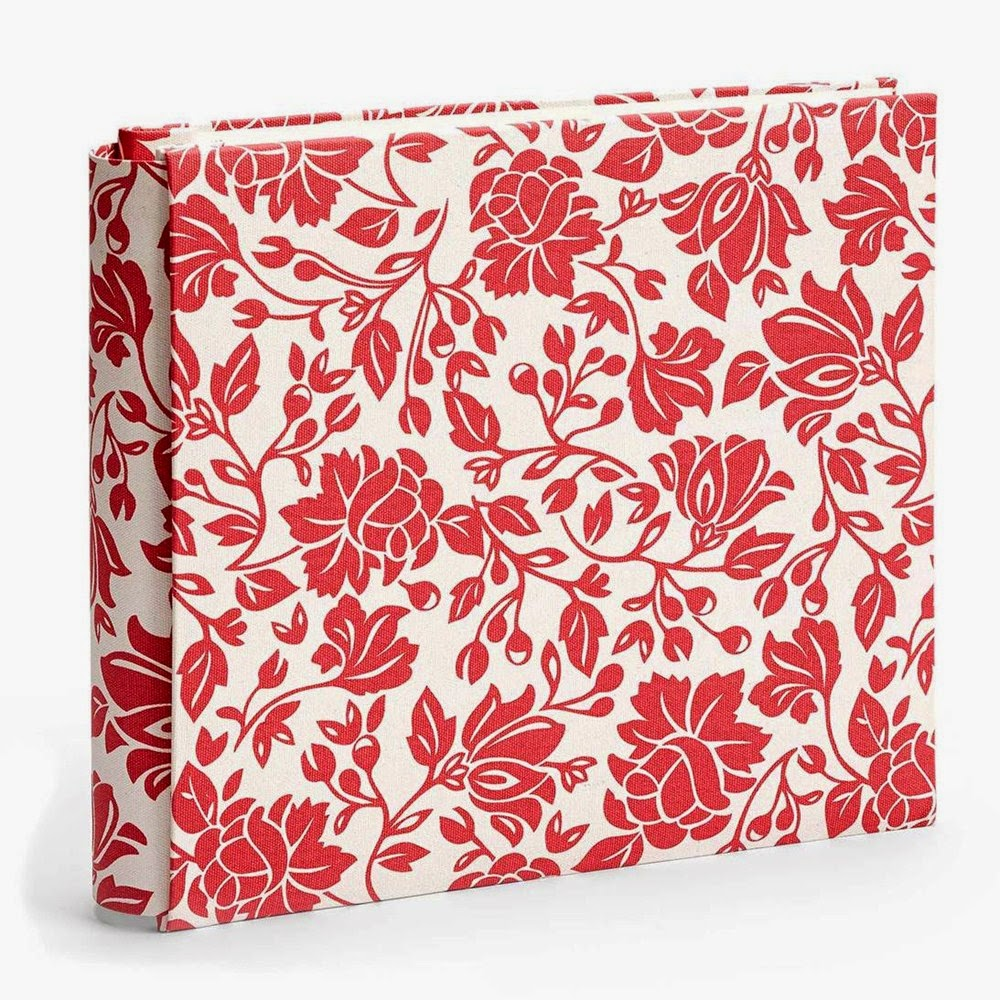 My Legacy™ Ruby Floral Post-Bound Album