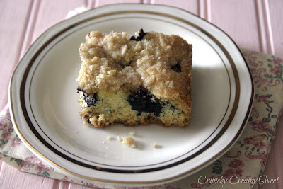 blueberrybuckle2 Buttermilk Blueberry Buckle and Fabulous Friday