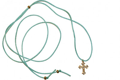 Chipina - Turquoise choker necklace