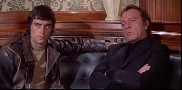 Ian McShane and Richard Burton