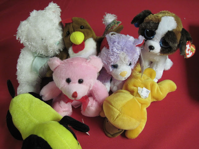 We always include stuffed animals in our Operation Christmas Child shoeboxes.