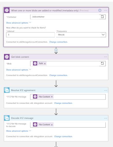Roving Integrators: Logic Apps: Decode X12 messages and transform