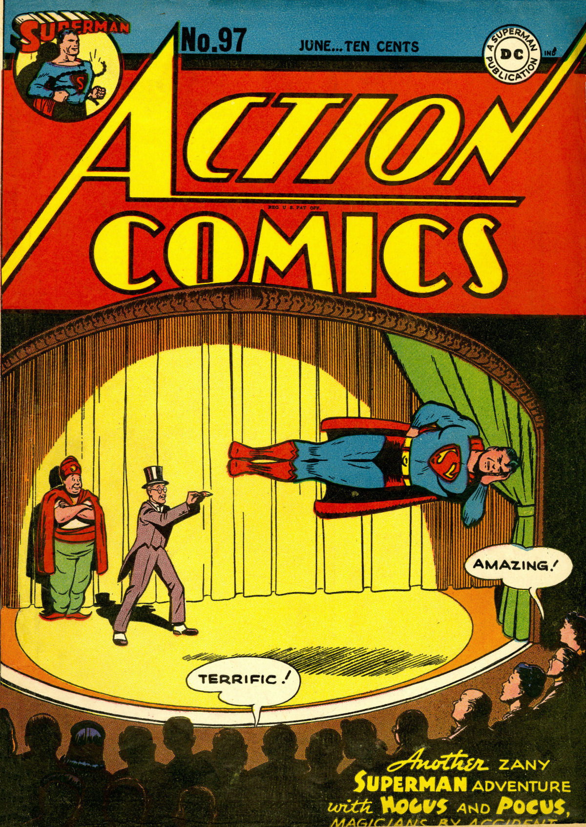 Action Comics (1938) 97 Page 1