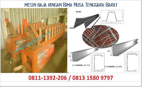 mesin baja ringan Bima Nusa Tenggara Barat
