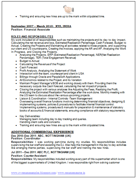 over 10000 cv and resume samples with free download best resume equity trader resume
