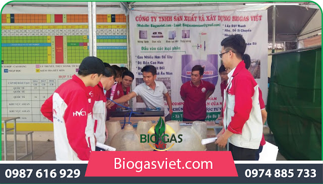 hầm biogas việt