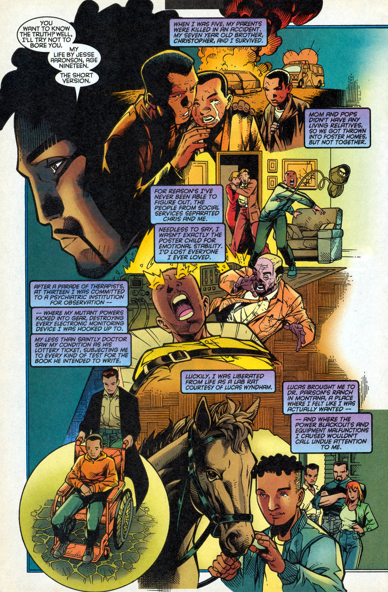 Read online X-Force (1991) comic -  Issue #83 - 29