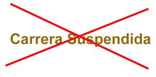 Motivos Suspension Carreras