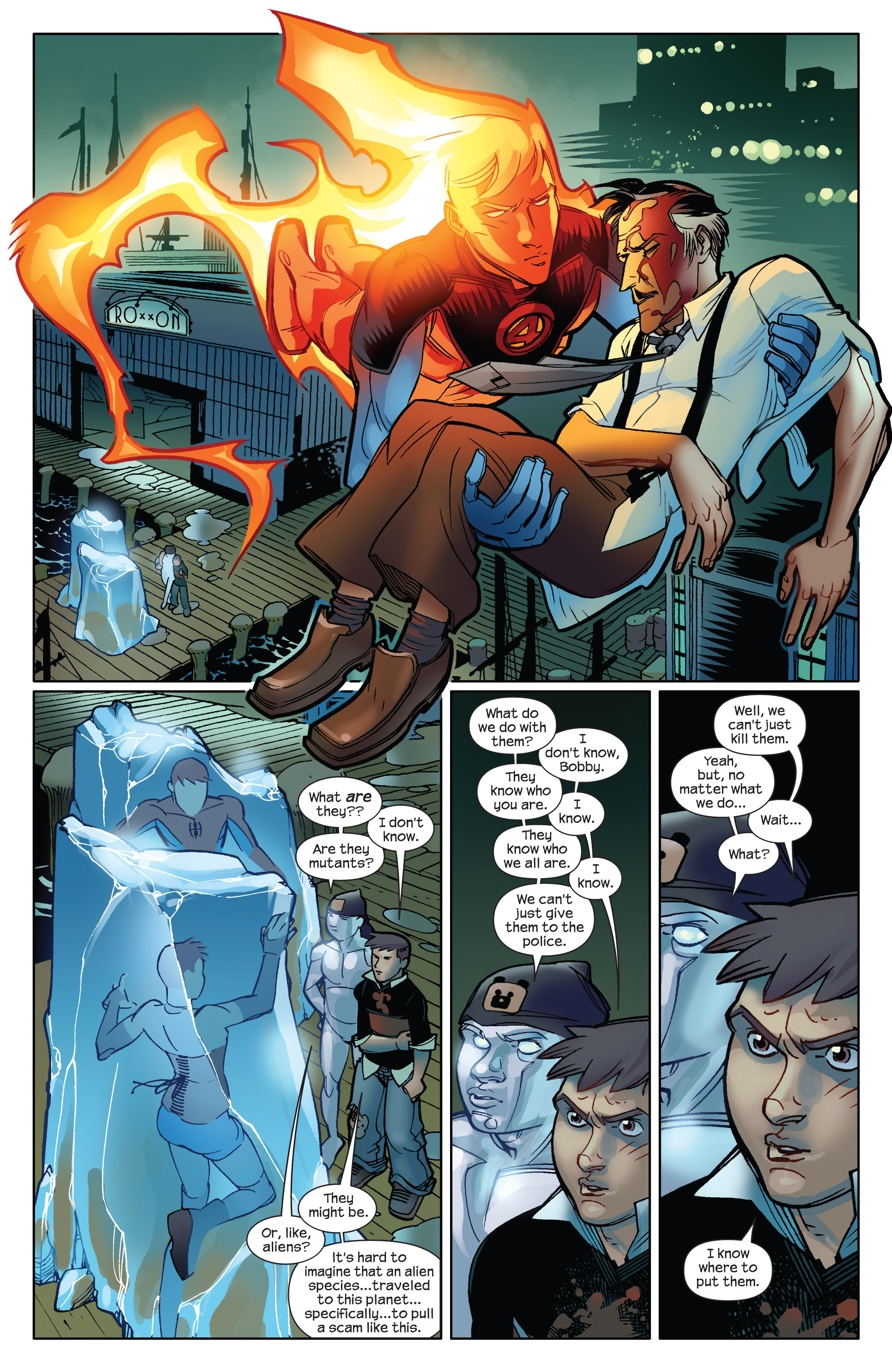 Read online Ultimate Spider-Man (2009) comic -  Issue #14 - 17