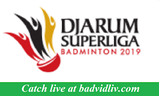 Djarum Superliga Badminton 2019 live streaming
