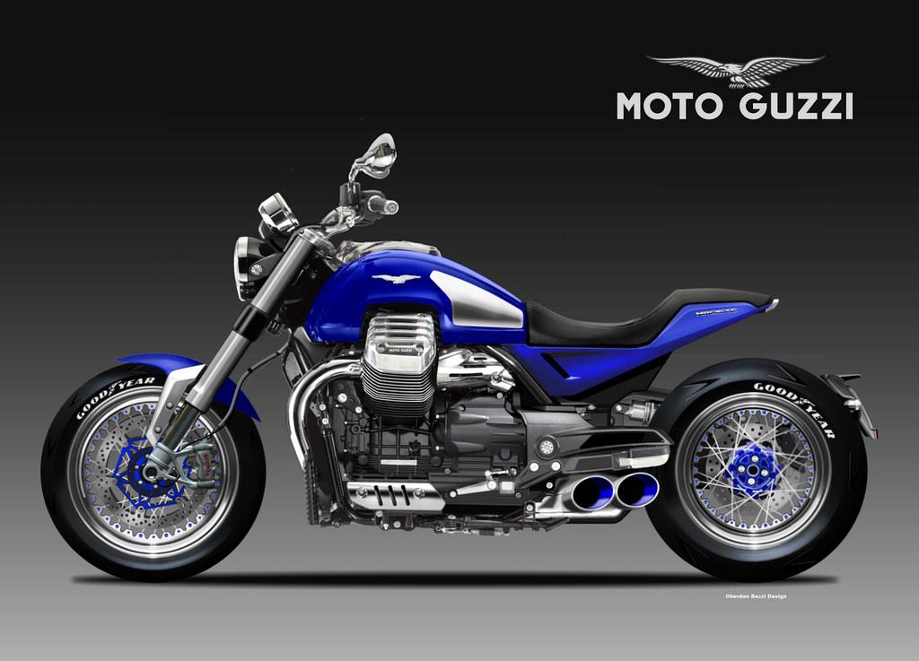 Motosketches Moto Guzzi V14 Maciste
