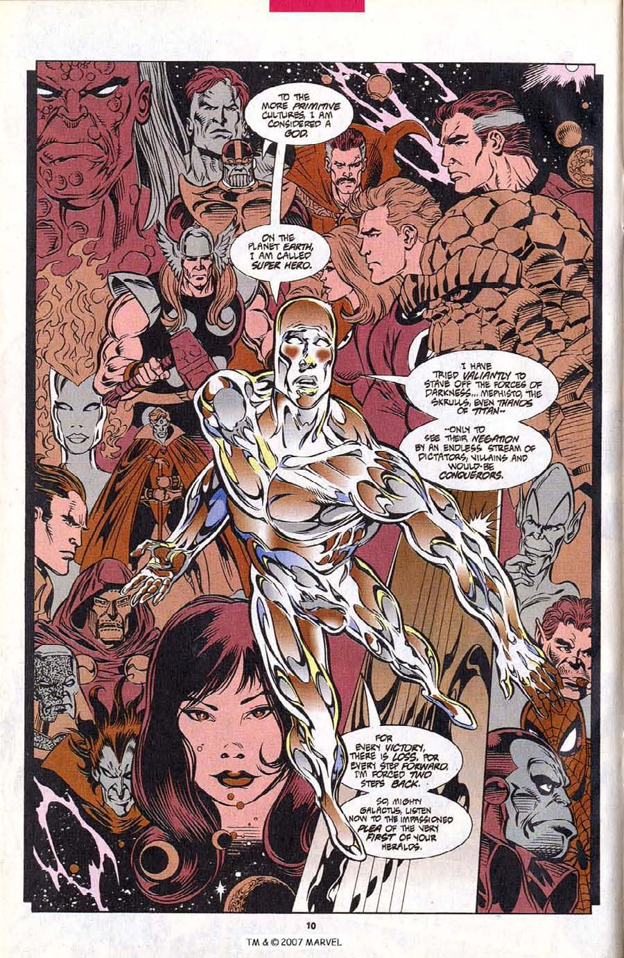 Read online Silver Surfer (1987) comic -  Issue #102 - 12