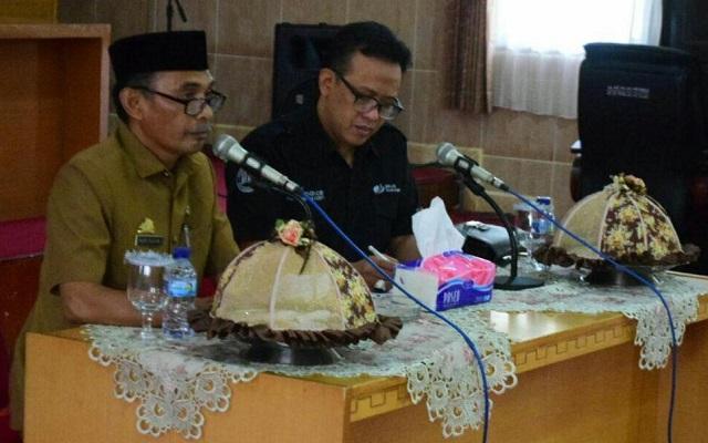 Plt Sekda Soppeng Harap BPJS Bangun Kerjasama dengan Lembaga Pemerintah dan Swasta