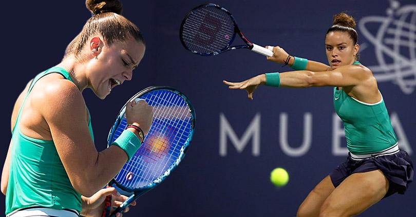 Στον Τελικό του Τουρνουά Τένις η Μαρία Σάκκαρη