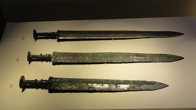 歷史背包客的筆記本: 青銅劍,吳王夫差青銅劍,吳王光青銅劍