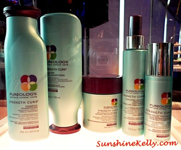Pureology Strength Cure Haircare, Pureology, Strength Cure, Haircare, Split End Salve, Fabulous Lengths, shampoo, masque, conditioner