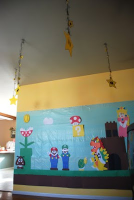 super Mario bros wall decorations