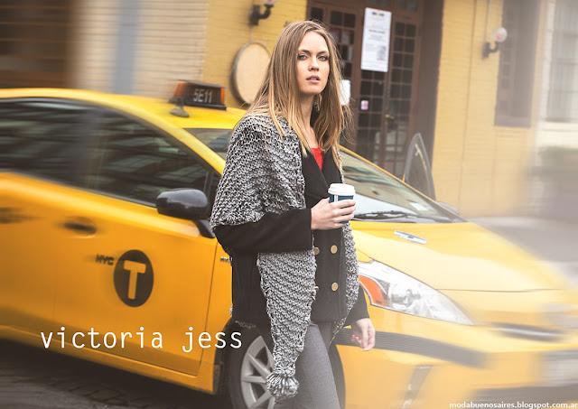 Moda invierno 2016 Victoria Jess ropa de moda otoño invierno 2016.