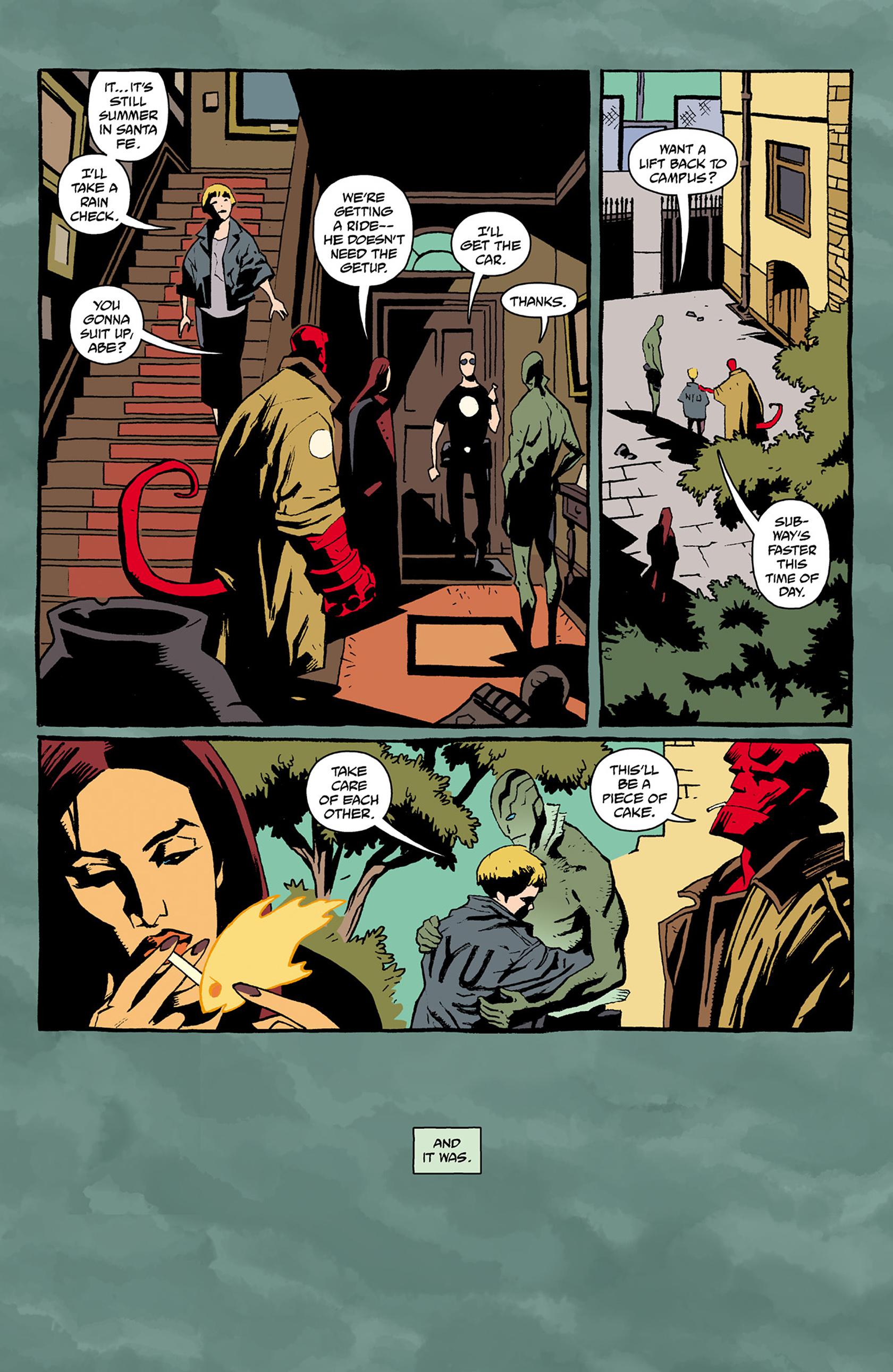 Read online Abe Sapien comic -  Issue #24 - 5