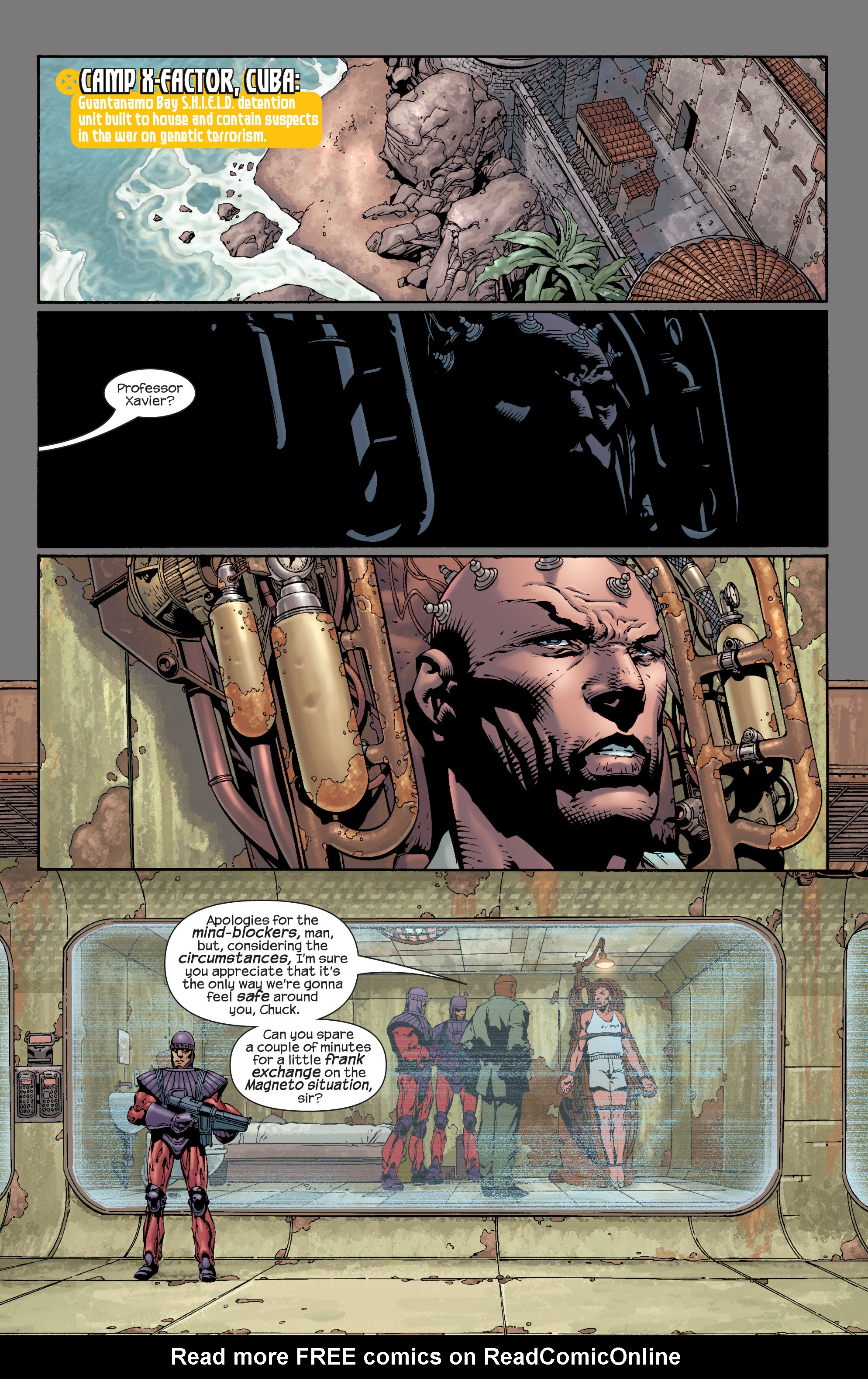 Read online Ultimate X-Men comic -  Issue #28 - 11