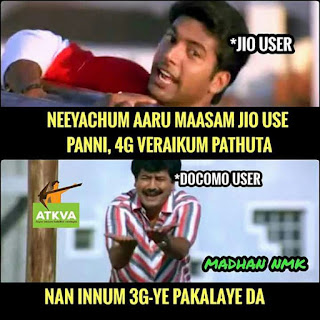 Non Jio User's Reaction