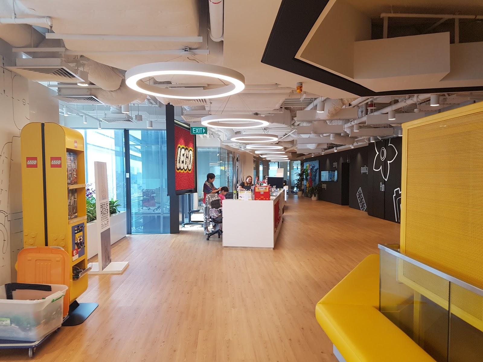 lego office. LEGO Singapore Office Tour! Lego