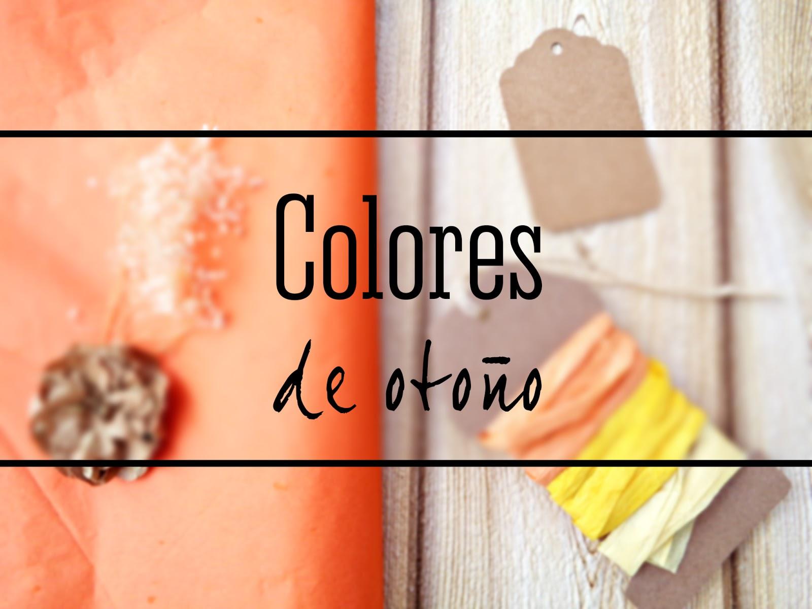 Envolver con colores de otoño