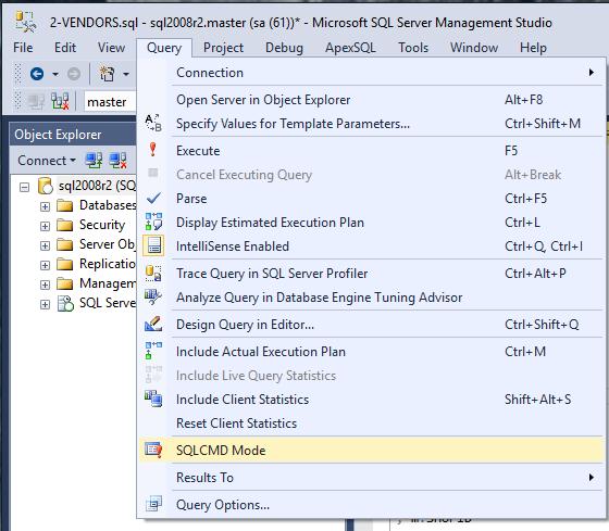 SQLCMD for Multiple Databases Using a  BAT (batch) File