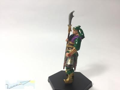 mô hình nhân vật Tam Quốc Chí quan vân trường