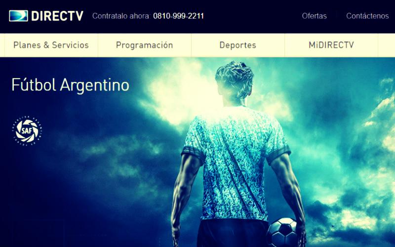 contratar y activar el pack futbol de directv argentina