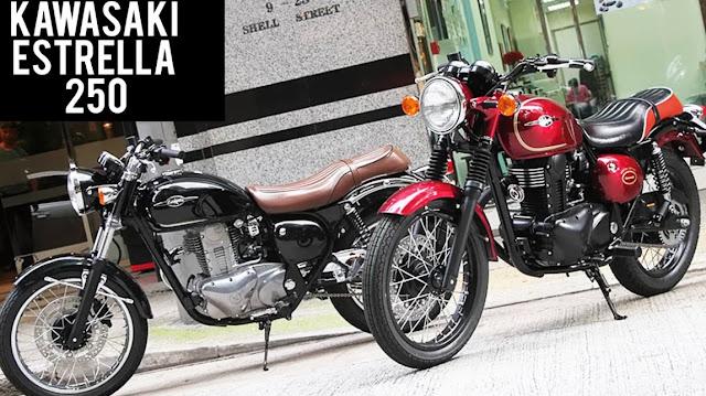 Price Kawasaki Estrella 250 New