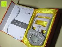 Lieferumfang: Camry Digitaler Hand-Kraftmesser / Dynamometer, zum Trainieren der Hände, 90 kg / 200 lb