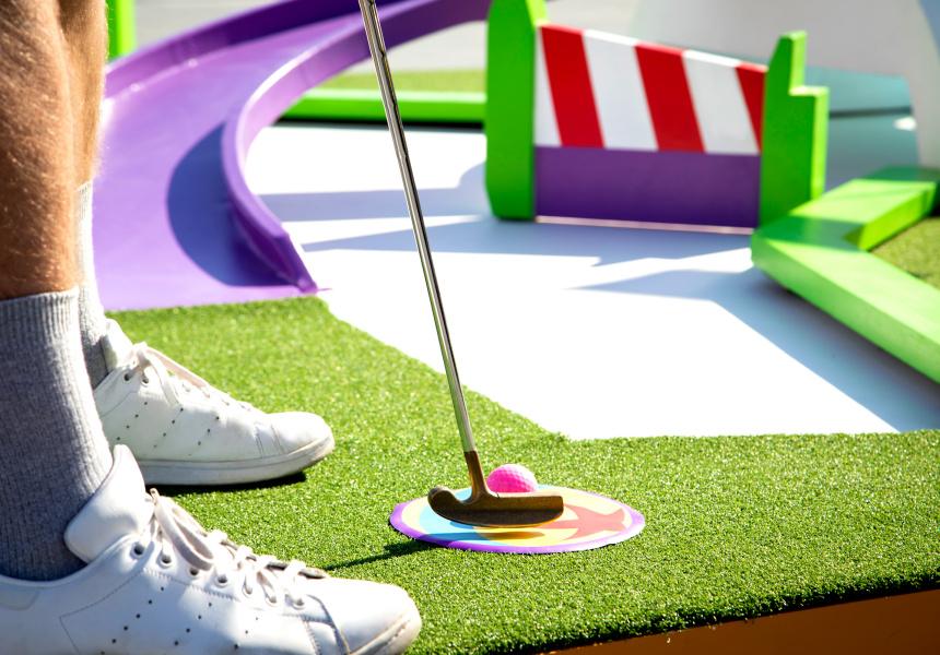 pixar putt a pixar themed miniature golf course coming to. Black Bedroom Furniture Sets. Home Design Ideas