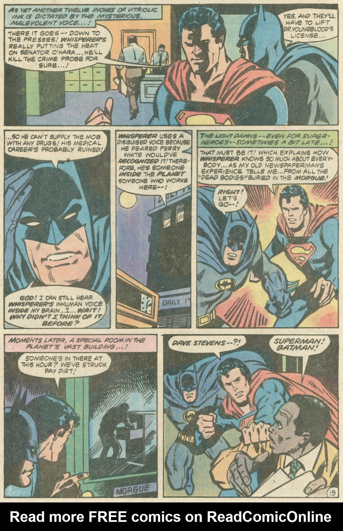 Read online World's Finest Comics comic -  Issue #252 - 25