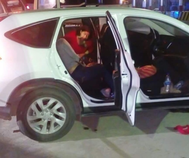 Rafaguean a familia matamorense en carretera; mujer muere