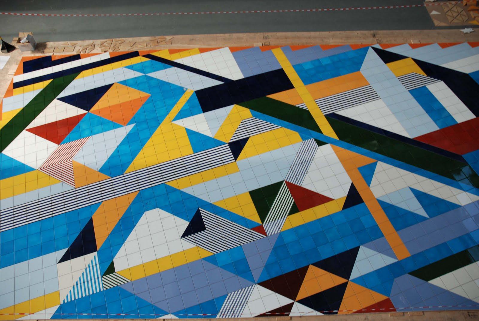 Gio ponti pavimento scultura cooperativa ceramica d imola - Piastrelle gio ponti ...