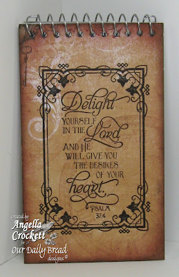 ODBD Time, ODBD Scrolly Borders, ODBD Scripture Series 2, Designed by Angie Crockett