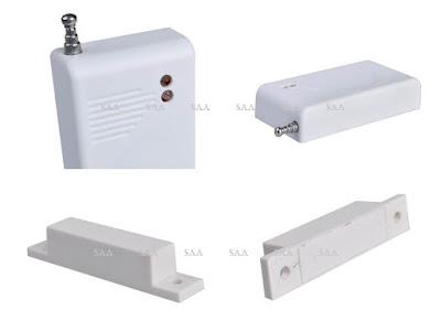 Alarm anti maling jenis wireless