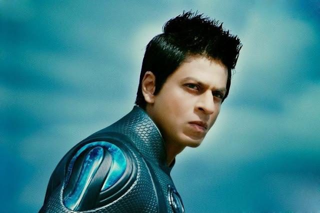 Shah Rukh Khan as Ra One Desktop HD Wallpapers